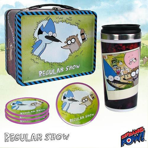 Regular Show - Tin Tote Gift Set
