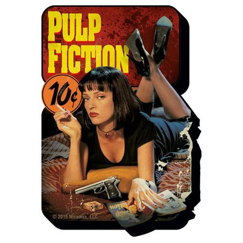 Pulp Fiction - One Sheet Poster Funky Chunky Magnet