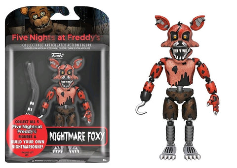 "Five Nights at Freddy's - Nightmare Foxy 5"" Action Figure"