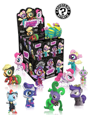 My Little Pony - Series 4 Power Ponies Mystery Mini Blind Box Case of 12 Figures