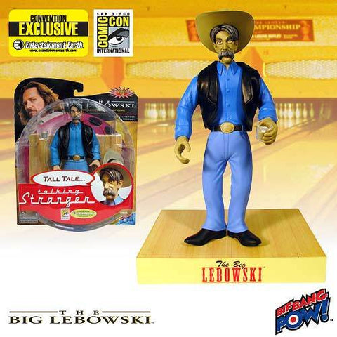 The Big Lebowski - The Stranger Talking Figure SDCC Exclusive