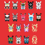"Dunny - The Wild Ones 3"" Dunny Mystery Mini Figures: Case of 24 Blind Boxes"