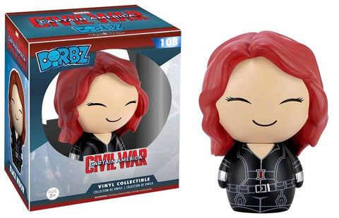 Captain America: Civil War - Black Widow Dorbz Vinyl Figure