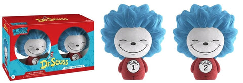 Dr. Seuss - Thing 1 & Thing 2 Flocked Dorbz 2-Pack