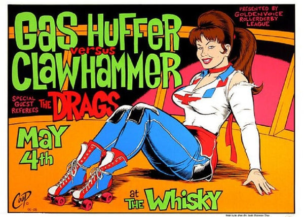 Coop - Gas Huffer at The Whiskey Limited Edition Print