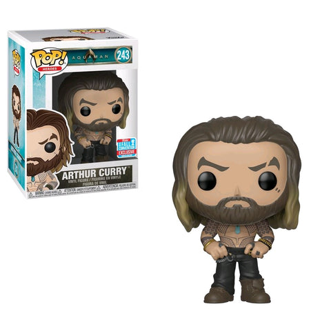 Aquaman - Arthur Curry NYCC 2018 Exclusive Pop! Vinyl Figure - Pre-Order