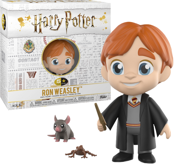 Harry Potter - Ron Weasley 5 Star Vinyl Figure - Pre-Order