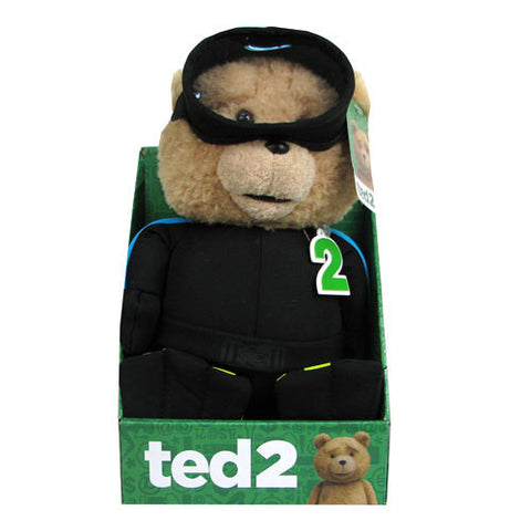 Ted 2 - 11-Inch R-Rated Talking Plush with Scuba Outfit