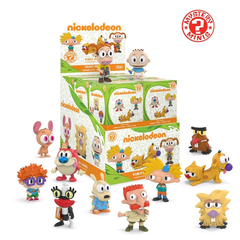 Nickelodeon - 90's Cartoons Mystery Mini Blind Box Case of 12 Figures - Pre-Order