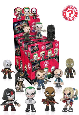 "Suicide Squad - Mystery Minis 2.5"" Vinyl Figure HT Exclusive Single Blind Box"