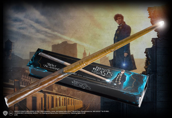 Fantastic Beasts and Where to Find Them - Newt Illuminating Wand - Pre-Order