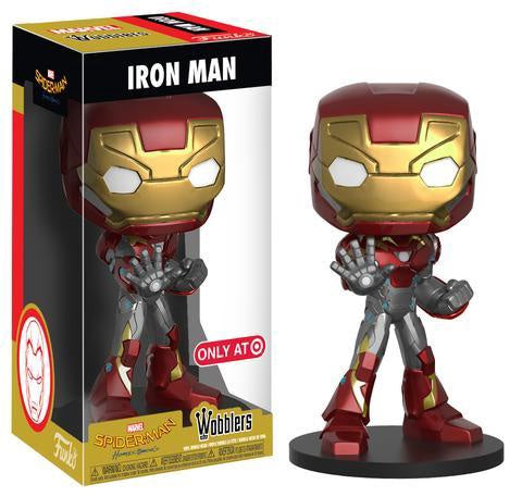 SpiderMan: Homecoming - Iron Man US Exclusive Wobbler Bobble Head - Pre-Order