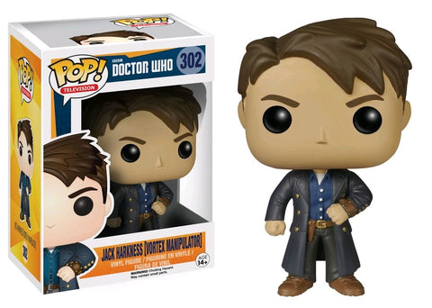 Doctor Who - Jack Harkness with Vortex Manipulator Pop! Vinyl Figure