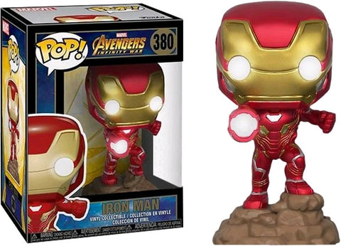 Avengers: Infinity War - Iron Man Light Up Pop! Vinyl Figure - Pre-Order