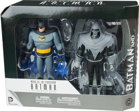 "Batman: Mask of the Phantasm - Batman and Phantasm 7"" Action Figure (Set of 2)"