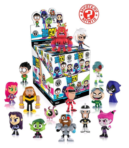 Teen Titans Go! - Case of 12 Mystery Mini Blind Boxes - Pre-Order