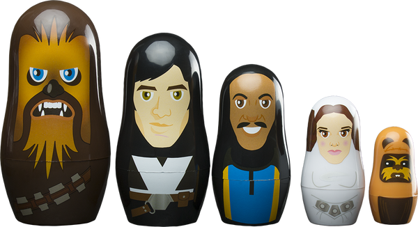 Star Wars - The Rebellion Nesting Doll Set