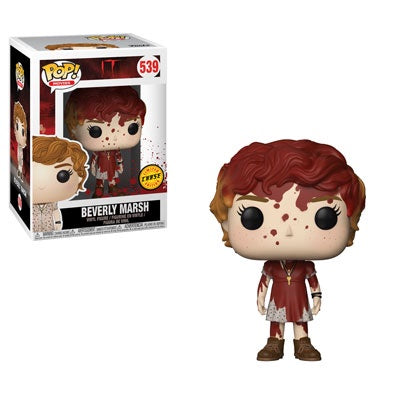 It (2017) - Beverly with Key Necklace Pop! Vinyl Figure: Case of 6 with A Chase - Pre-Order