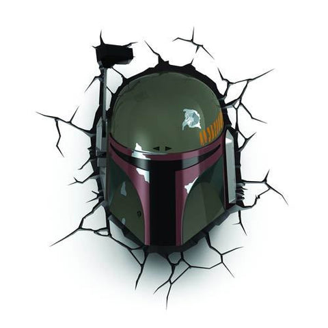 Star Wars - Boba Fett Helmet 3D Nightlight