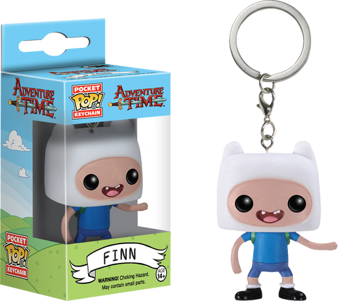 Adventure Time - Finn Pocket Pop! Keychain