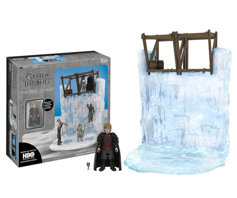 "Game of Thrones – The Wall 13"" Display & Tyrion Lannister 4"" Action Figure Set"