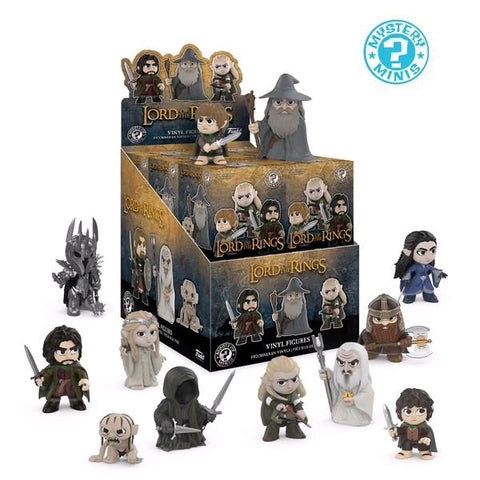 Lord of the Rings - Barnes & Noble Exclusive Mystery Mini Blind Box Case of 12 Figures