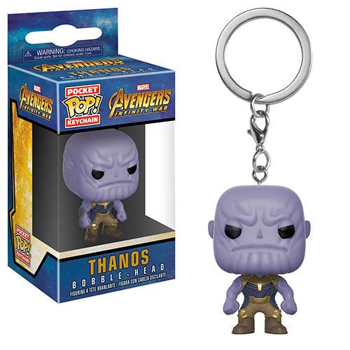 Avengers: Infinity War - Thanos Pocket Pop! Key Chain - Pre-Order