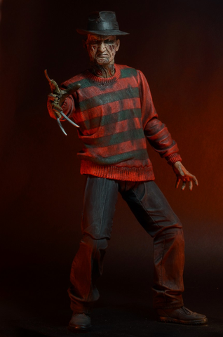 "A Nightmare on Elm St - 7"" Freddy 30th Anniversary Action Figure - Pre-Order"