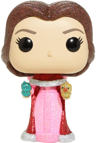 Beauty and the Beast - Belle with Birds Diamond Glitter US Exclusive Pop! Vinyl Figure
