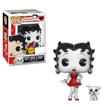 Betty Boop - Betty Boop with Pudgy Black & White Pop! Vinyl Figure - Pre-Order