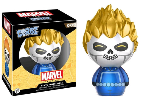 Ghost Rider - Ghost Rider Metallic US Exclusive Dorbz - Pre-Order