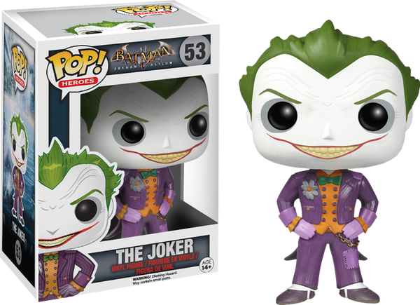Batman: Arkham Asylum - Joker Pop! Vinyl Figure Figure