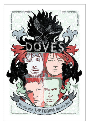 Doves - 2005 Melbourne Limited Edition Print