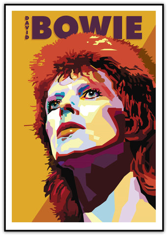 "David Bowie - ""Ziggy Played Guitar"" Limited Edition Print"