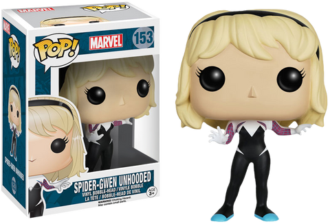 Spider-Man - Spider-Gwen Unhooded Pop! Vinyl Figure