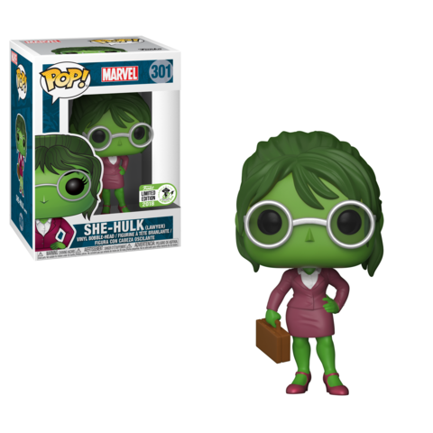 ECCC 2018 Exclusive - Marvel: Lawyer She-Hulk Pop! Vinyl Figure - Pre-Order