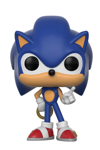 Sonic The Hedgehog - Sonic with Ring Pop! Vinyl Figure - Pre-Order