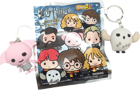 Harry Potter - 3D Figural Keychain Series 2 Blind Bags