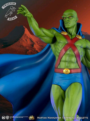DC Comics - Martian Manhunter Super Powers Maquette Statue - Pre-Order