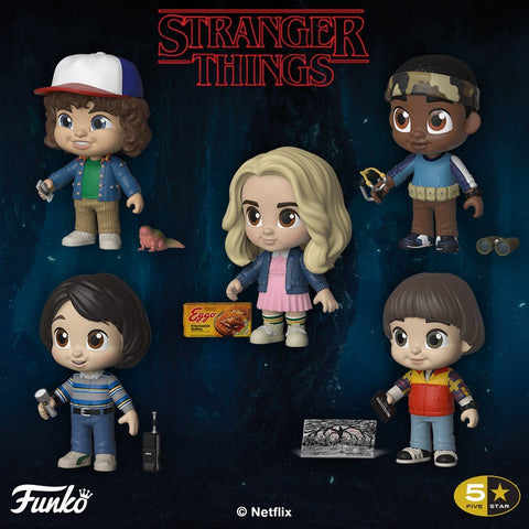 Stranger Things - 5-Star Vinyl Figure Set of 5 Figures - Pre-Order