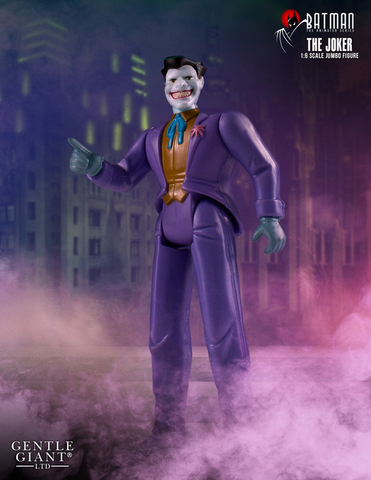 "Batman: The Animated Series - Joker 1:6 Scale 12"" Jumbo Kenner Action Figure"