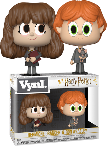 Harry Potter - Hermione and Ron Vynl. Vinyl Figure 2-Pack - Pre-Order
