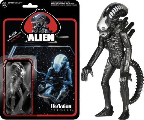 "Alien - Metallic Alien 3.75"" ReAction Figure"
