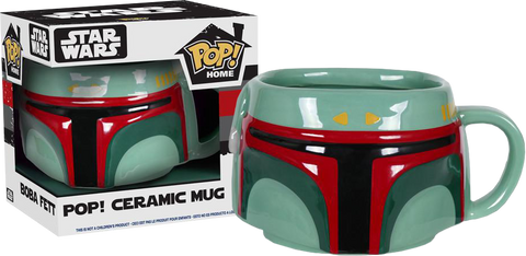 Star Wars - Boba Fett Pop! Ceramic Mug - Pre-Order