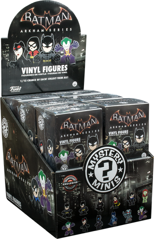 Batman - Arkham Series Gamestop Exclusive Mystery Minis - Case of 12 Blind Boxes