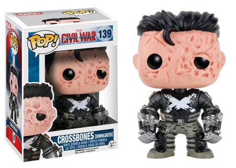 Captain America 3: Civil War - Crossbones Unmasked US Exclusive Pop! Vinyl Figure