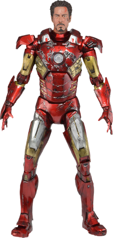 Avengers - Iron Man Battle Damaged 1:4 Scale Action Figure