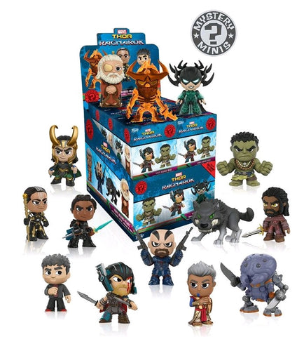 Thor: Ragnarok - Mystery Minis: Hot Topic Exclusive Case of 12 Blind Boxes - Pre-Order