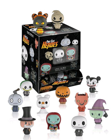 The Nightmare Before Christmas - Case of 24 Pint Size Heroes Blind Bag Figures - Pre-Order