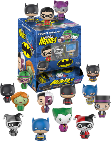DC Comics - Batman Pint Size Heroes Mystery Mini Blind Bags Case of 24 Figures